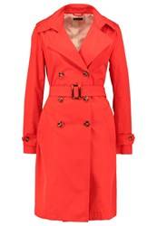 United Colors Of Benetton Trenchcoat Red