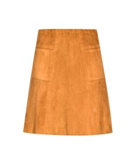 Stouls Lolita Suede Miniskirt Brown
