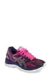 Asicsr Women's Asics Gel Nimbus 19 Running Shoe Blue Green Pink Glow