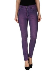 Cheap Monday Denim Pants Purple