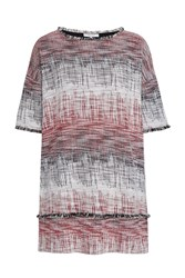 Great Plains Romany Scribble Tunic Dress Red