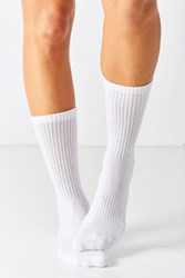 Urban Outfitters Athletic Crew Sock White