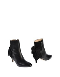 Carven Ankle Boots Black