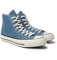 Converse 1970S Chuck Taylor All Star Canvas High Top Sneakers Blue