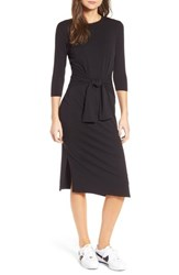 Amour Vert Women's Colombe Knit Sheath Dress Black