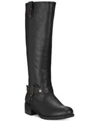 Rampage Iliya Wide Calf Riding Boots Women's Shoes