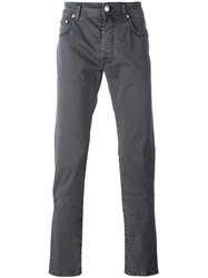 Jacob Cohen Tapered Jeans Grey