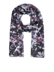 Eastex Cascarding Blooms Scarf Multi Coloured