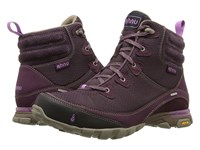 Ahnu Sugarpine Boot Dark Burgundy Women's Hiking Boots Brown