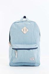Herschel Supply Co. Heritage Select Denim Backpack Light Blue