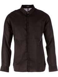 L'eclaireur Made By Distressed Effect Shirt Black