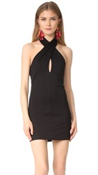 Amanda Uprichard Becket Dress Black