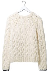 Chunky Cable Hand Knit Jumper By Boutique Buttermilk