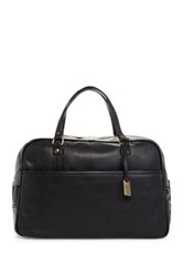 Frye Genuine Leather Richard Vintage Gym Bag Black