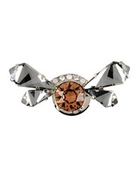 Maison Michel Brooches Steel Grey