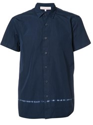 Orlebar Brown Short Sleeve Shirt Blue