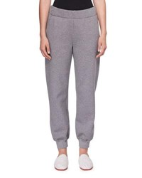 The Row Linzia Brushed Cotton Sweatpants Charcoal