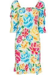 All Things Mochi Marianna Floral Print Dress 60