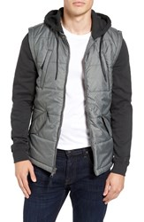 Rvca Men's Quilted Puffer Jacket