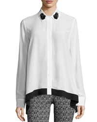 Zac Posen Gemma Long Sleeve Blouse