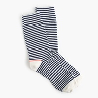 J.Crew Tipped Striped Socks Frosted Mint