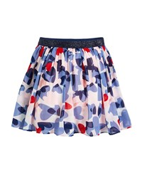 Kate Spade Confetti Heart A Line Skirt Size 7 14 Multi