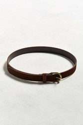 Urban Outfitters Uo Suede Belt Brown