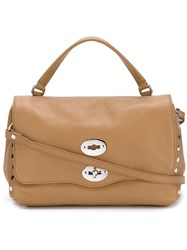 Zanellato Medium Shoulder Bag Neutrals