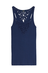 Polo Ralph Lauren Jane Embroidered Cotton Tank