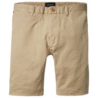 Scotch And Soda Classic Garment Dyed Shorts Sand