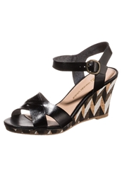 Chocolate Schubar Ebony High Heeled Sandals Black