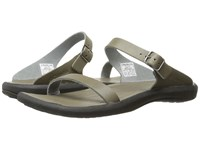 Columbia Caprizee Leather Slide City Grey Black Slide Shoes Gray