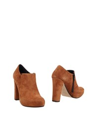 Couture Booties Brown