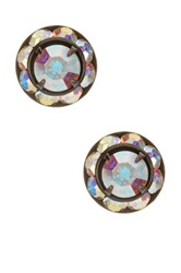 Liz Palacios Medium Rondelle Stud Earrings No Color