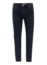 Topman Dark Wash Blue Stretch Slim Jeans