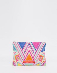 Glamorous Bright Tapestry Pouch Bright Multi