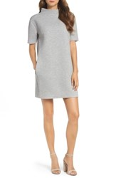 French Connection Women's Marian Shift Dress Light Grey