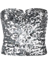 Amen Sequined Strapless Top 60