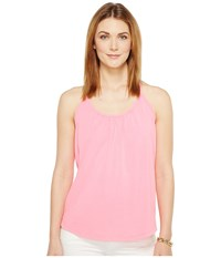 Lilly Pulitzer Lacy Tank Top Tiki Pink Women's Sleeveless