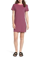 Current Elliott The Beatnik T Shirt Dress Ibis Rose