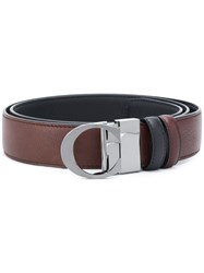 Canali Buckled Belt Brown