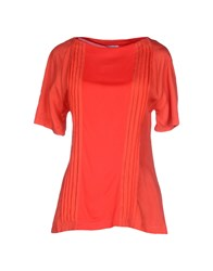Gianfranco Ferre Gf Ferre' Topwear T Shirts Women Red