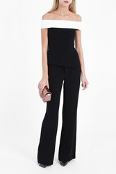 Roland Mouret Women S Danielson Jumpsuit Boutique1 Black