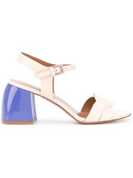 Sportmax 'Sacco' Sandals Women Calf Leather Leather Rubber 37 Nude Neutrals