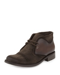 Donald J Pliner Jasi Suede Chukka Boot Brown