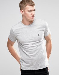 Voi Jeans Crew Neck T Shirt Grey