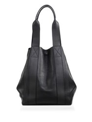 Alexander Wang Bail Convertible Leather Tote Black