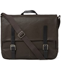 Ally Capellino Ben Canvas Satchel Brown