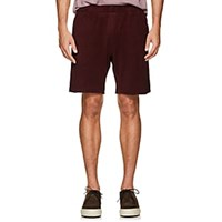 P. Johnson Cotton French Terry Shorts Wine