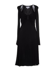 Gai Mattiolo Dresses Knee Length Dresses Women Black